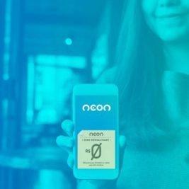 Cartão de crédito Neon sem anuidade é lançado pelo Banco Neon