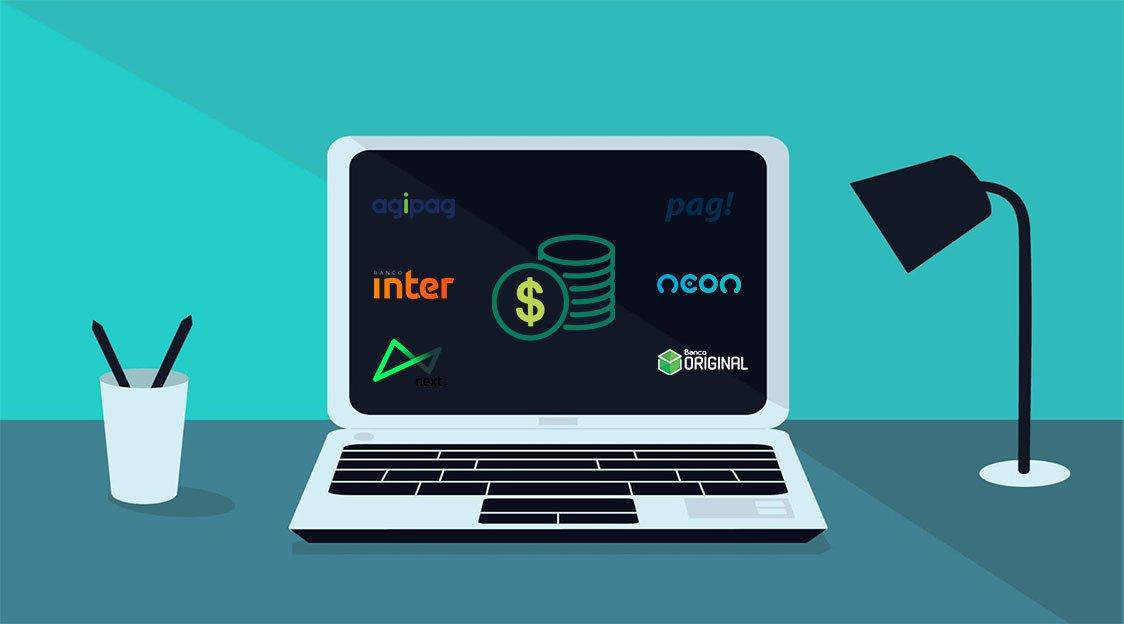 Saiba quais são os melhores bancos digitais sem anuidade em 2019