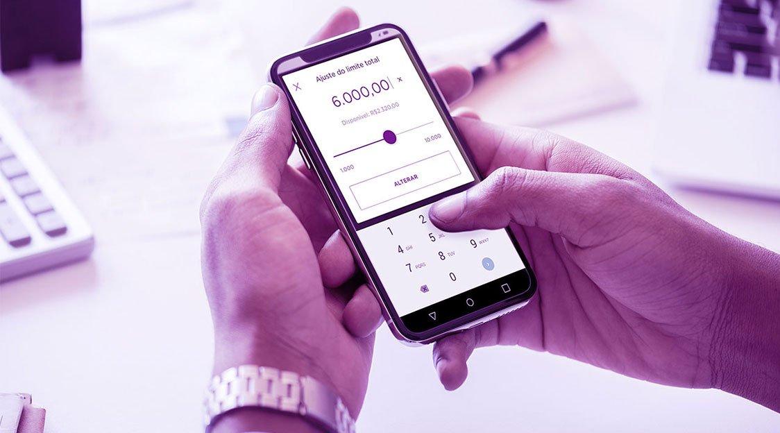 aumento do limite do Nubank