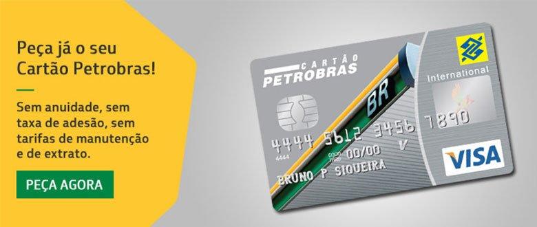 cartão de crédito sem anuidade Petrobrás