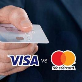 MasterCard ou Visa