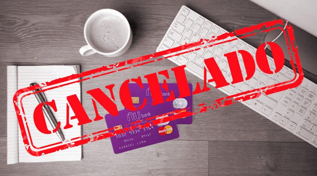 cancelamentos de contas