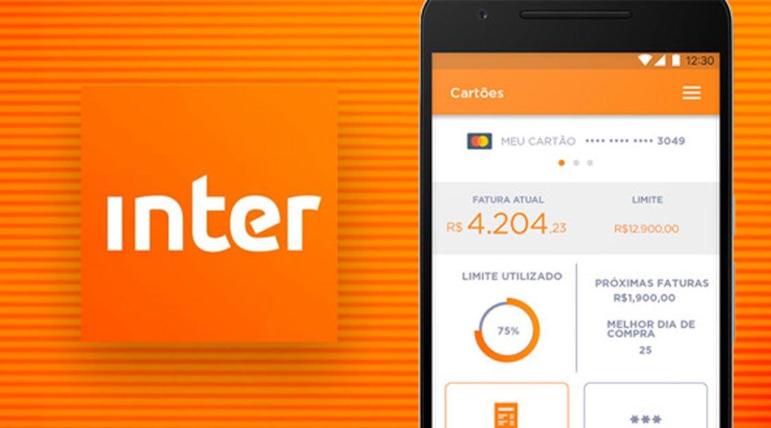 limite do cartão de crédito do Banco Inter