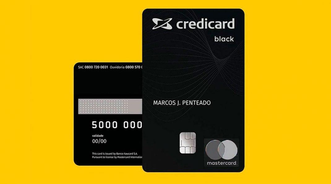 Itaú lança cartão de crédito digital Credicard Black para cliente de alta renda