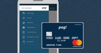 Pag! terá cartão de débito e conta com investimentos
