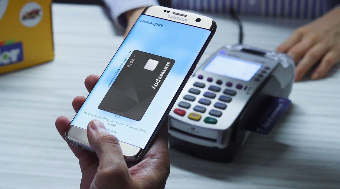 pagamentos pelo Samsung Pay