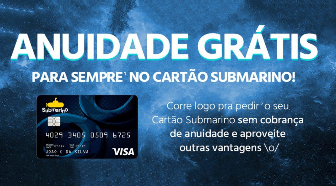 f5dbfe1fad4b2 Como conseguir anuidade grátis do cartão Submarino pra sempre