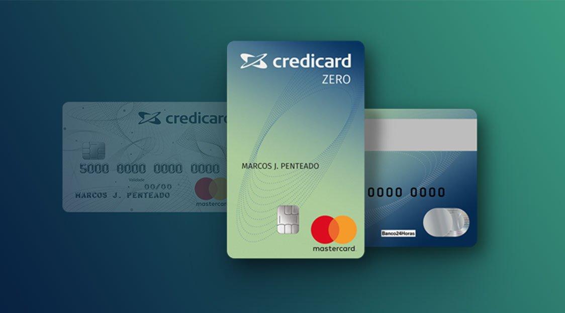 cartão de crédito sem anuidade Credicard Zero
