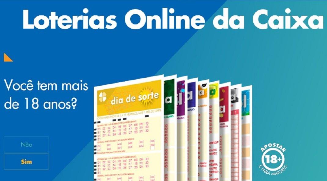 Apostas online loterias caixa
