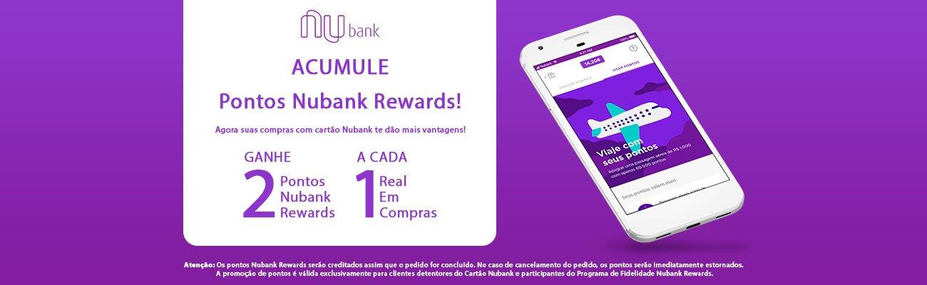 Nubank Rewards fecha parceria com o Ponto Frio