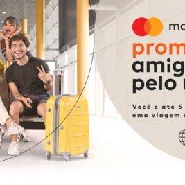 Promoção Mastercard Amigos pelo Mundo sorteará viagens com até 5 amigos