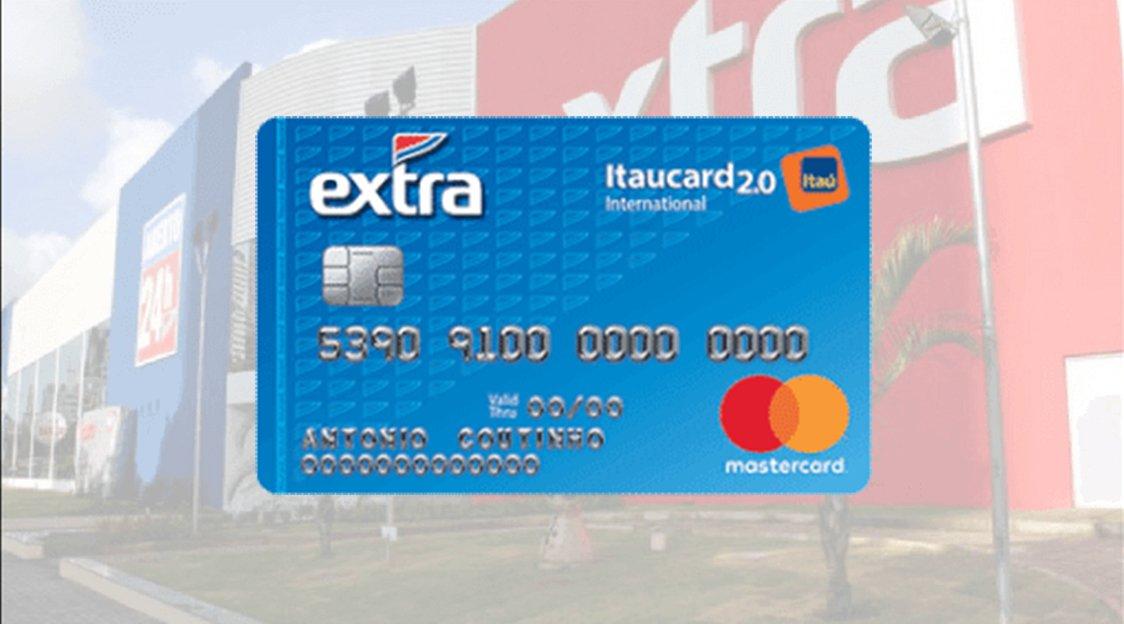Cartão de Crédito Extra Itaucard permite parcelar suas compras em até 18x sem juros e libera crédito pessoal