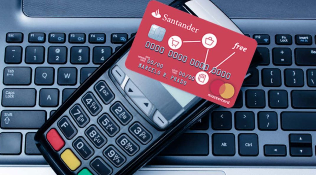aumentar o limite do cartão Santander Free