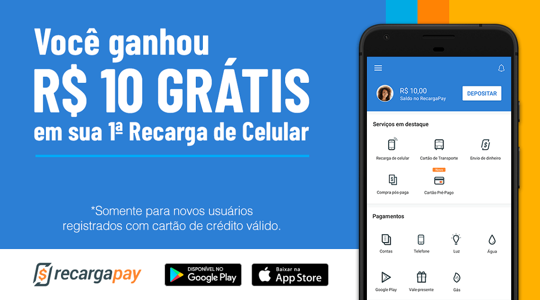 Aplicativo RecargaPay está aceitando todos os tipos de boletos