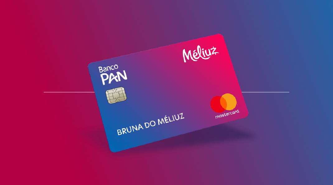 Cartão de crédito Méliuz Banco Pan é sem anuidade e com cashback!