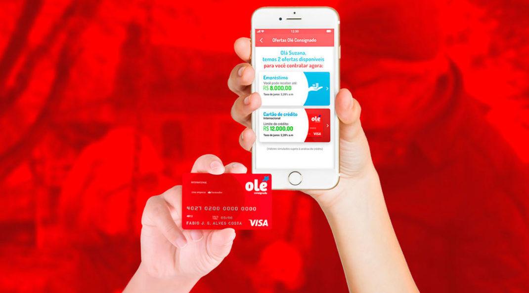 cartão Olé
