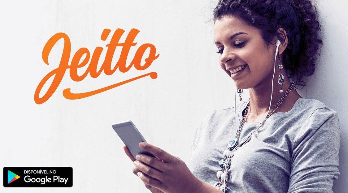 Jeitto dá crédito de R$ 30 a R$ 500 e sem juros
