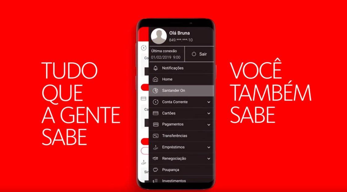 Santander lança uma ferramenta para você consultar CPF e se está com o nome sujo no Serasa