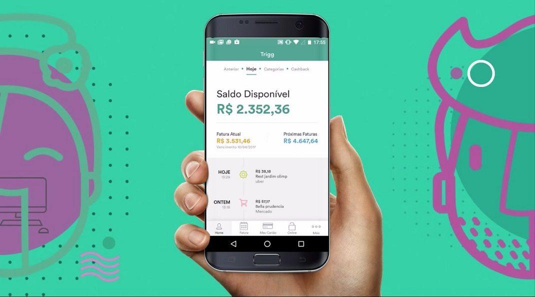 Trigg lança cartão de crédito por aproximação, assim como Nubank