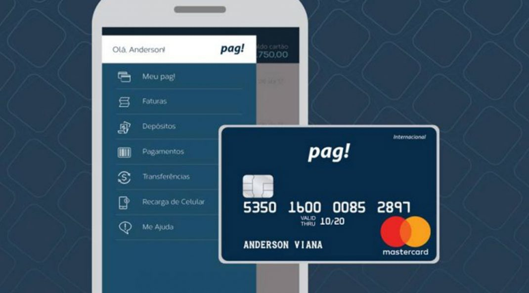 Cartão pag! agora libera limite de crédito em poucos minutos