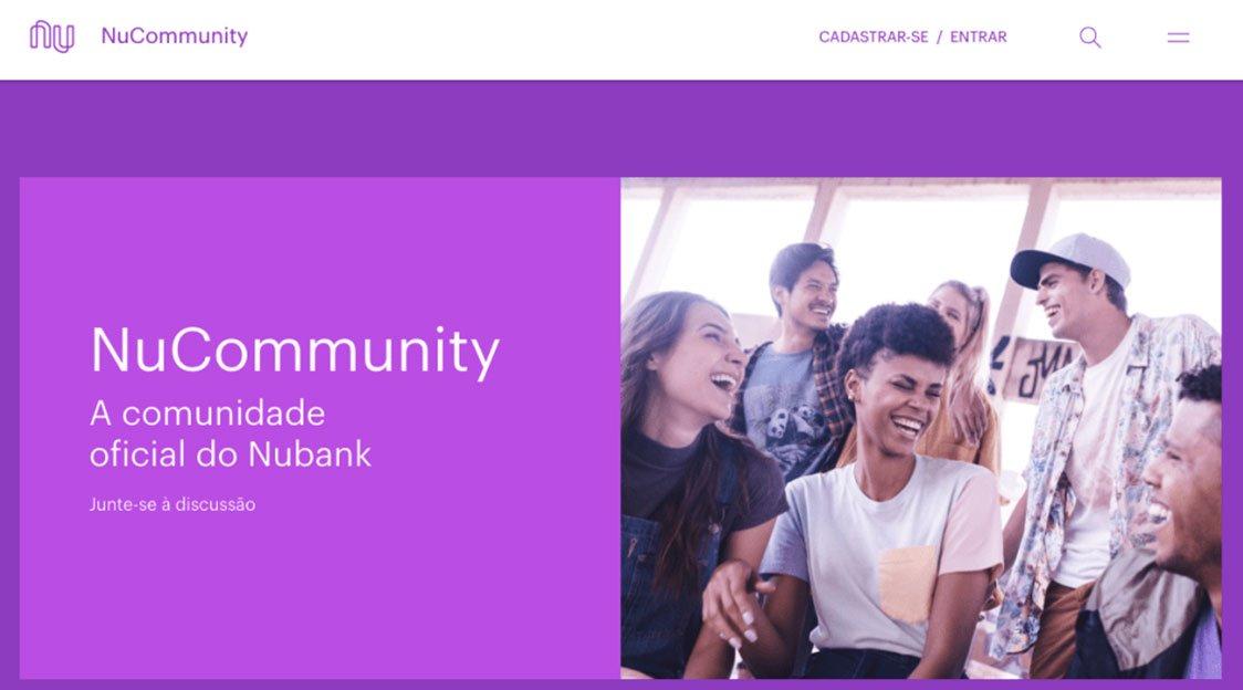 Nubank lança a NuCommunity, comunidade oficial da empresa