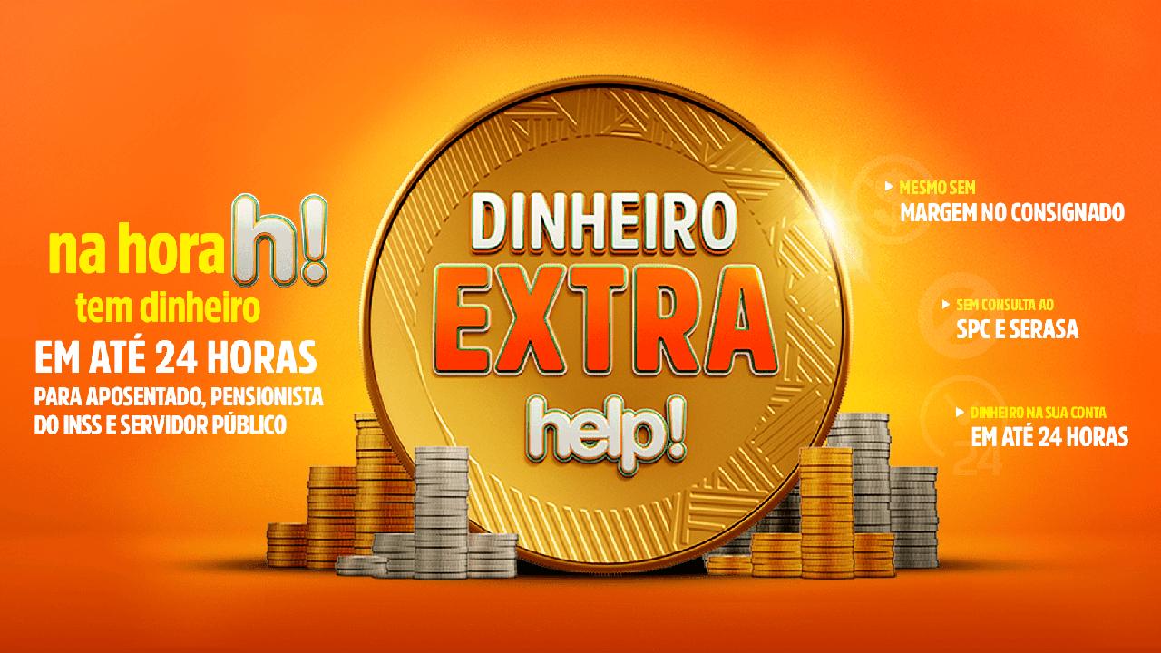 Como funciona o Dinheiro Extra help! sem consulta ao SPC e Serasa?