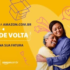 Dia das mães Visa e Amazon: R$ 70 de volta no OuroCard e outros cartões Visa