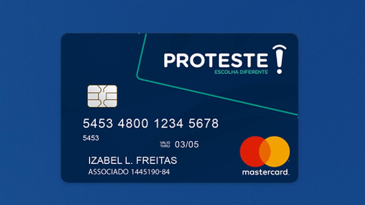 Proteste lança cartão sem consulta ao SPC e Serasa, saiba mais
