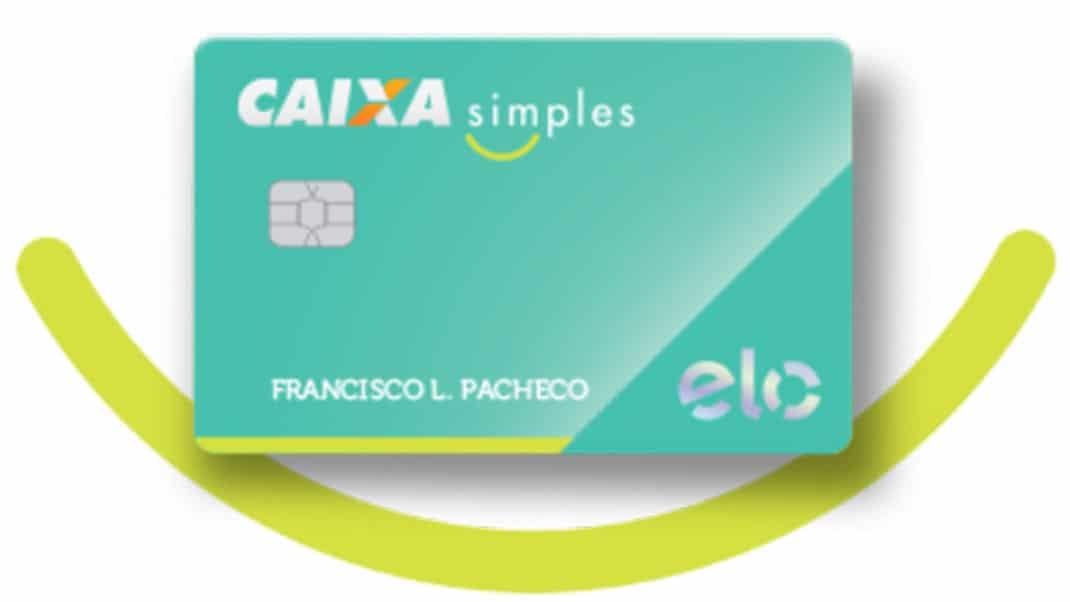 Cartão Caixa Simples é zero anuidade e sem consulta ao SPC/Serasa