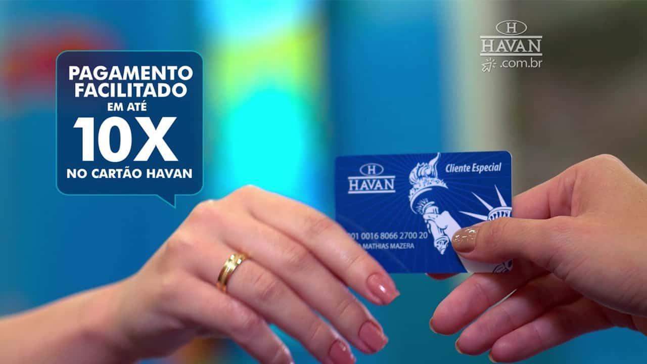 Havan libera solicitação do seu cartão de crédito sem anuidade pela internet