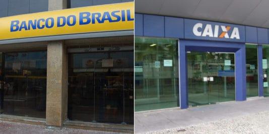 Cartões de crédito sem anuidade da Caixa e do Banco do Brasil