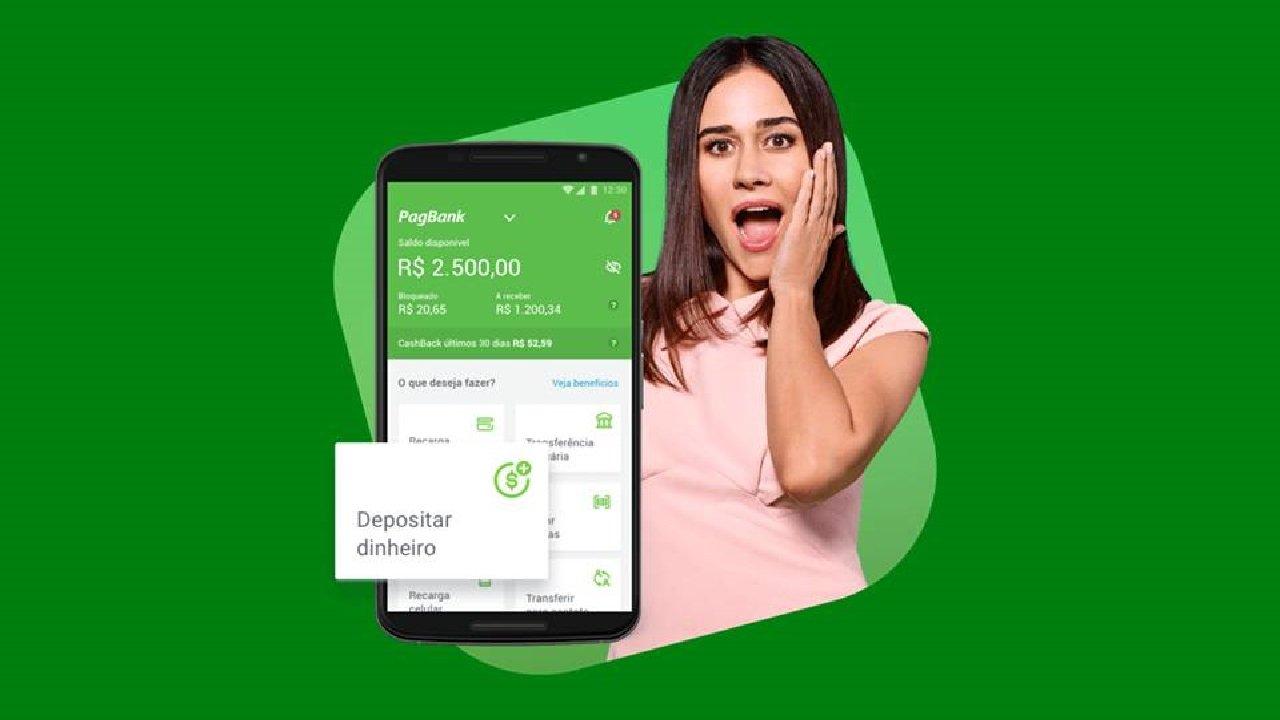 PagBank alcança 2,5 milhões de downloads, ultrapassa next e pode alcançar Banco Inter