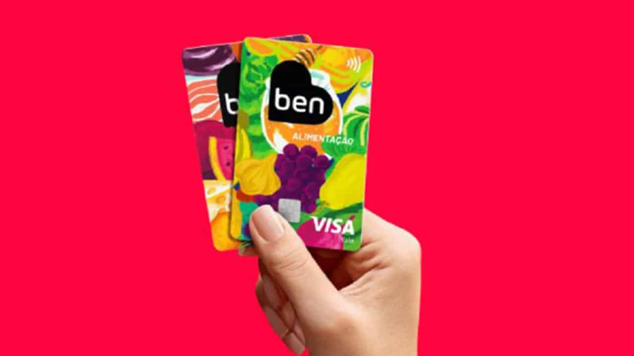 cartões de benefícios