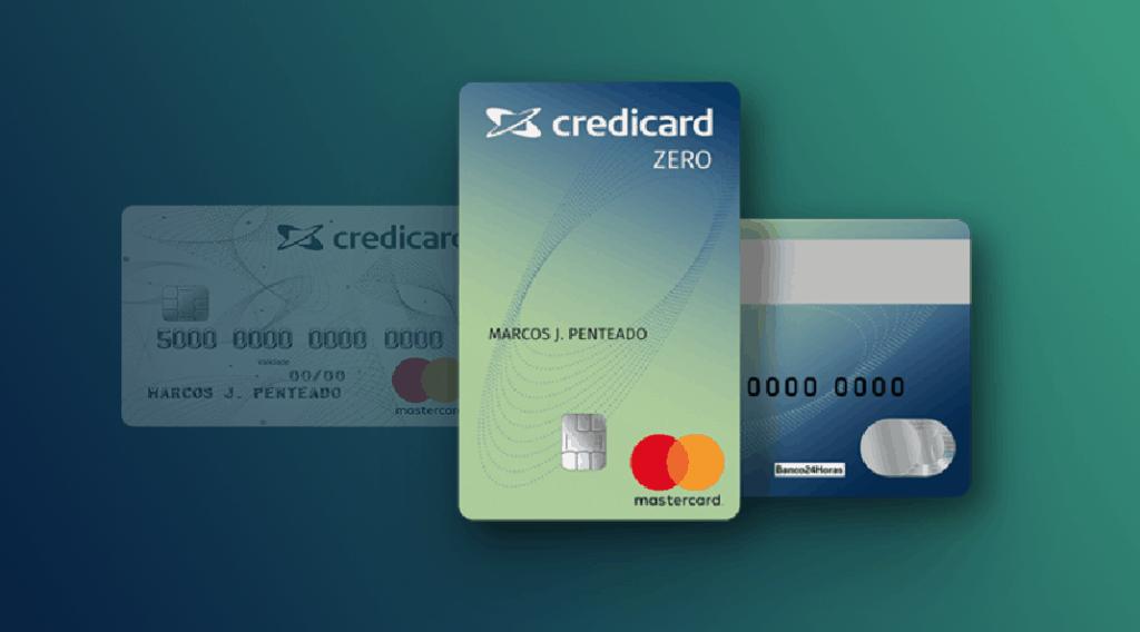 Cartões de crédito sem anuidade que liberam cartão adicional - Credicard Zero