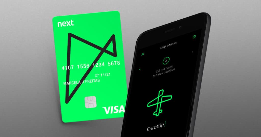 next - melhores cartões sem anuidade que devolvem dinheiro