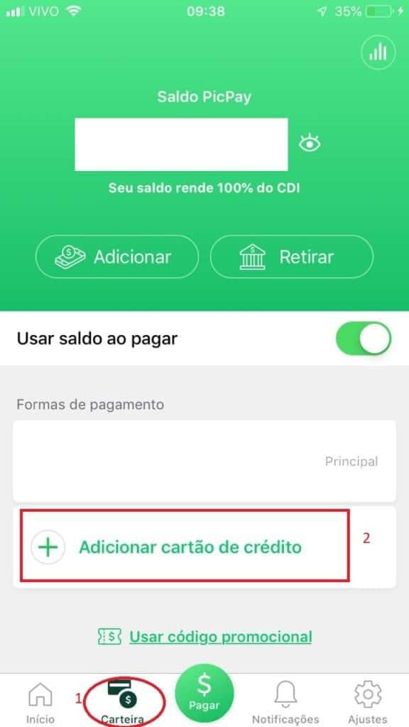 PicPay - melhores Apps para pagar boleto com cartão de crédito