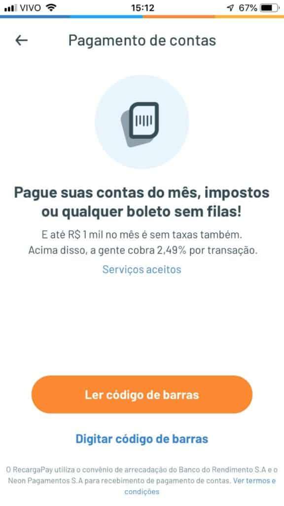 RecargaPay - melhores Apps para pagar boleto com cartão de crédito