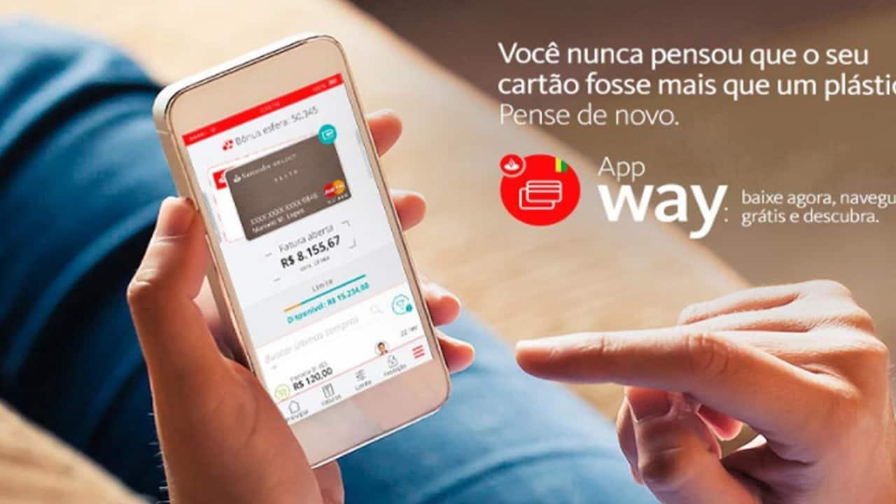 Santander Way lança função que permite enviar e receber dinheiro para os contatos