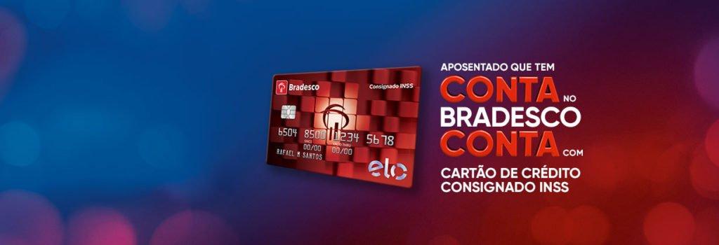 Cartão de crédito consignado Bradesco para cpf sujo