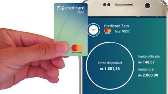 Cartão de crédito Credicard Zero tem empréstimo pessoal que pode ser pago em até 36x