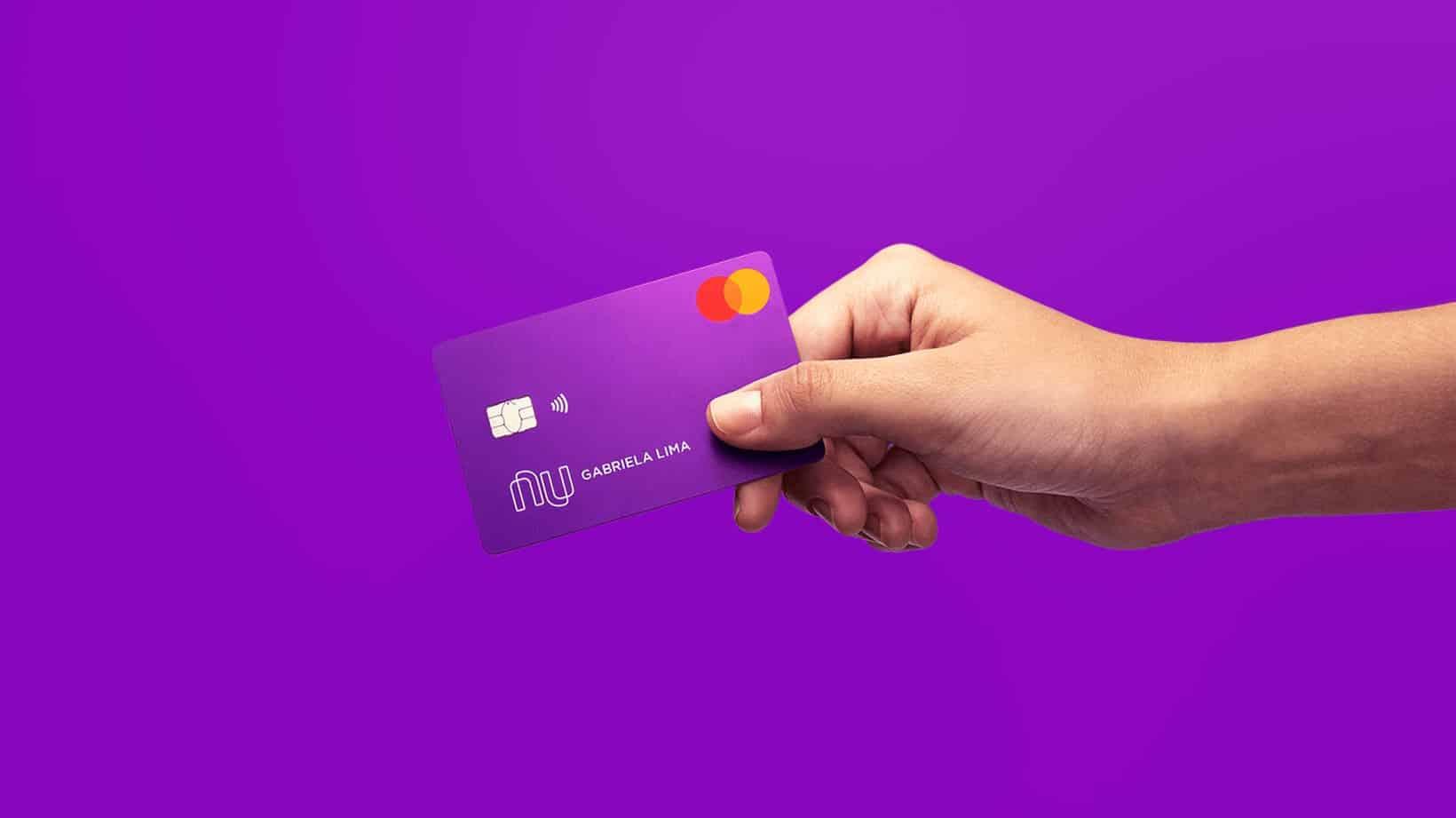 Cartão de crédito Nubank é destaque no mercado