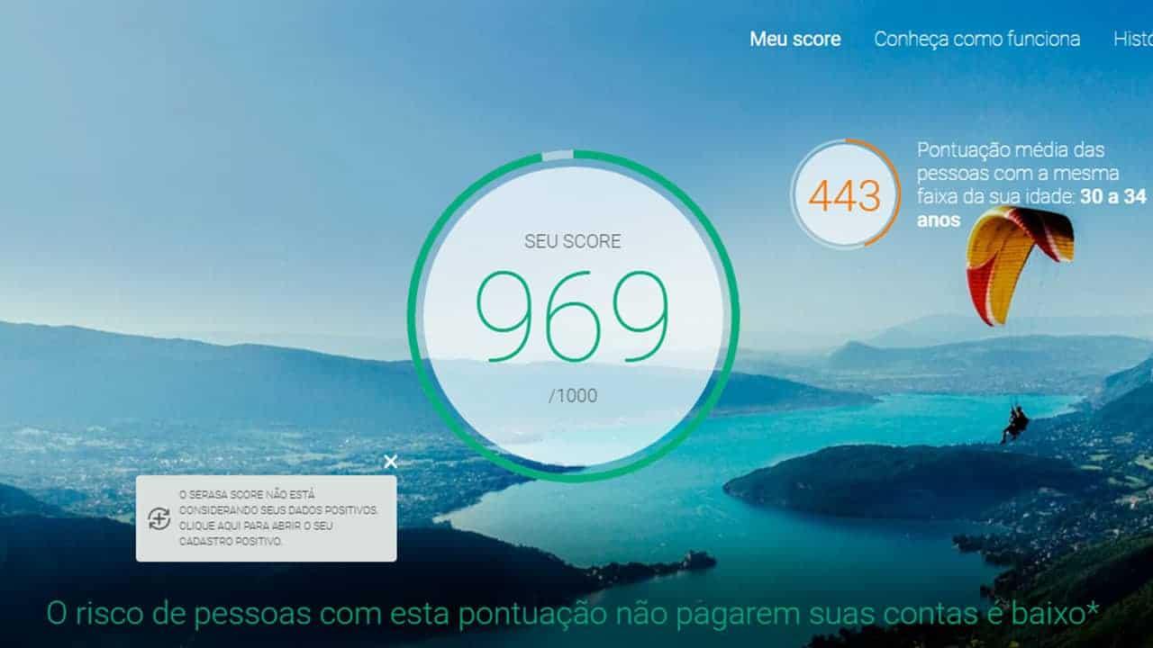 score da Serasa