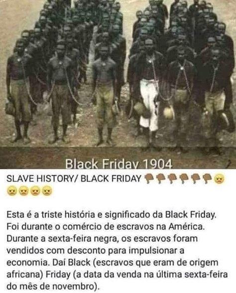black friday é racista
