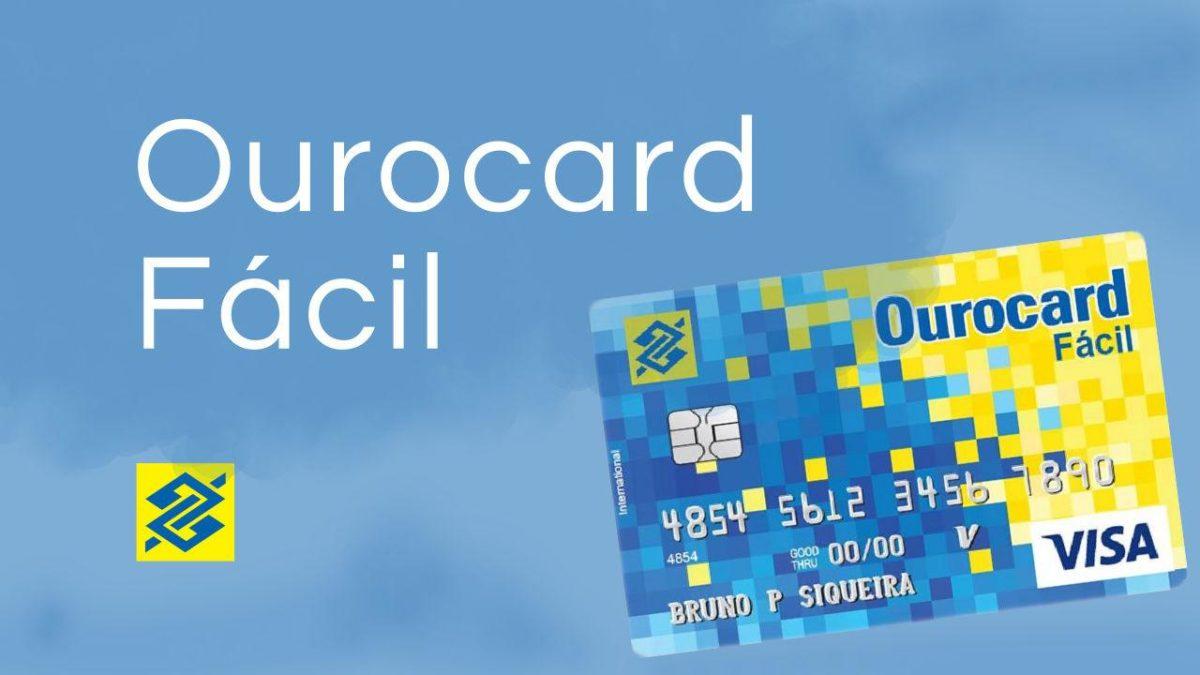 OuroCard Fácil do Banco do Brasil é o melhor cartão Visa sem anuidade