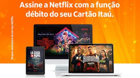Netflix no cartão de débito