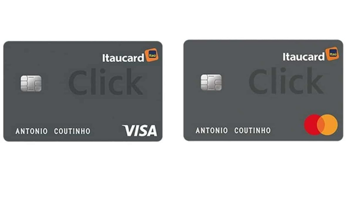 Não consegue cartão de crédito? Você pode ter um Itaucard Click sem anuidade no Serasa eCred!