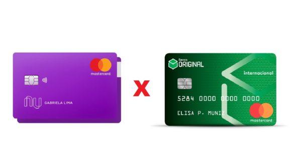 Nubank vs Original melhor cartão para pontos