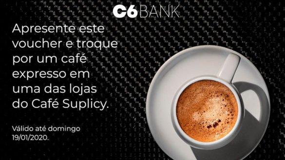 C6 Bank dá cafezinho grátis