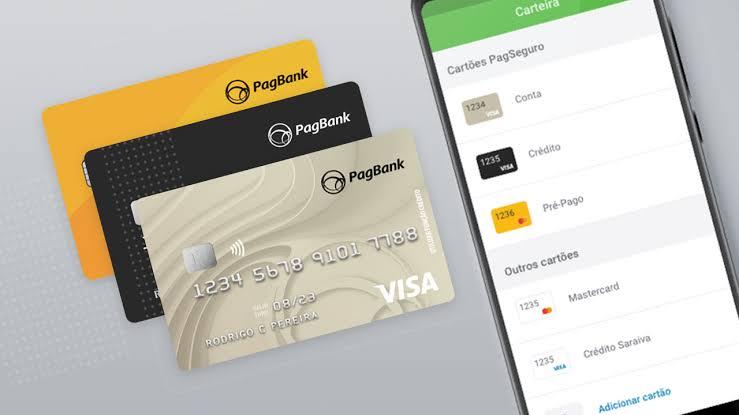 PagBank oferece cartão de crédito com limite de metade do seu salário, veja como conseguir