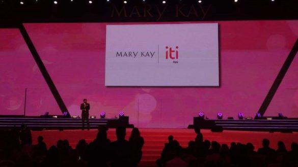 iti parceria com Mary Kay